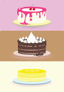 Cake illustration/ Royalty Free Stock Photos