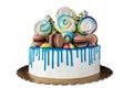 Cake isolated
