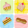 Cake pattern Royalty Free Stock Images