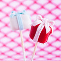 Cake pop Gift Royalty Free Stock Photos