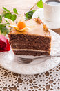Cake with roses Stock Images