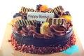 Cakes birthday Royalty Free Stock Photo