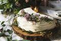 Cakes Delicious Dessert Bakery Event Wedding Reception Royalty Free Stock Photo