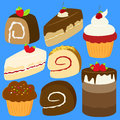 Cakes Vector Set