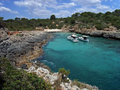 Cala Brafi in Majorca Stock Images