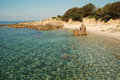 Cala d'Orzu beach, Corsica Royalty Free Stock Photo
