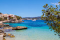 Cala fornells view in majorca paguera spain Stock Photography