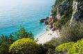 Cala Fuili beach Royalty Free Stock Photo