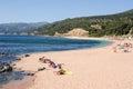 Cala Gonone beach on Sardinia, Italy Royalty Free Stock Photo
