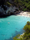 Cala Macarelleta Menorca Royalty Free Stock Photos