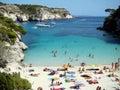 Cala Macarelleta Menorca Stock Images