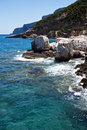Cala Mariolu  - Sardinia Royalty Free Stock Photography