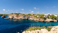 Cala santanyi majorca spain bay of Stock Images