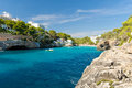 Cala santanyi majorca spain bay of Royalty Free Stock Images