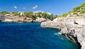 Cala santanyi majorca spain bay of Royalty Free Stock Image
