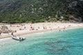 Cala Sisine beach on Sardinia, Italy Royalty Free Stock Photo