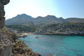 Cala vincente st mallorca a popular tourist destination Royalty Free Stock Images