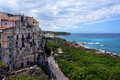 Calabria tropea city the south italy area Stock Image