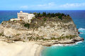 Calabria tropea city the south italy area church of Royalty Free Stock Photo
