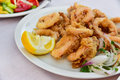 Calamari rings Royalty Free Stock Photo