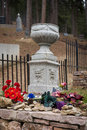 Calamity jane burial site grave of martha canary at the mount moriah cemetery in deadwood south dakota Stock Photo