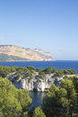 Calanques of cassis, marseille Royalty Free Stock Photo