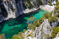 Calanques d'En Vau near Cassis Provence Royalty Free Stock Photo