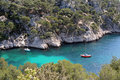 Calanques de cassis Royalty Free Stock Images
