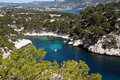 Calanques de cassis Royalty Free Stock Photography
