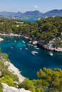 Calanques of Port Pin in Cassis Royalty Free Stock Photo