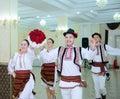 Calarasi, MOLDOVA, 06.08. 2019 Moldavian traditional dances