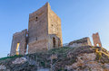 Calatanazor castle remains of the of soria castile and leon spain Stock Images