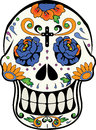 Calaverita de azucar halloween mexican tradition of day of the dead sugar Stock Photos