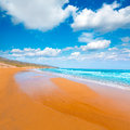 Calblanque beach park manga mar menor murcia near la in spain Stock Image