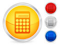 Calculator button Royalty Free Stock Photos