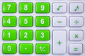 Calculator buttons Royalty Free Stock Photo