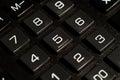 Calculator buttons closeup Royalty Free Stock Photo