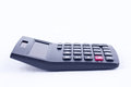 Calculator for calculating the numbers accounting accountancy business calculation  on white background  side view Royalty Free Stock Photo
