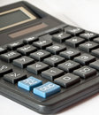 Calculator close up Royalty Free Stock Photo
