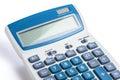 Calculator Closeup White