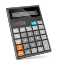 Calculator electronic isolated on white background Royalty Free Stock Photography