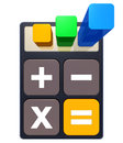Calculator high resolution d rendering of a calculation concept Royalty Free Stock Image
