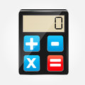 Calculator icon vector illustration this is file of eps format Stock Photos