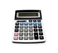 Calculator isolated onwhite background Royalty Free Stock Photo