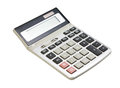 Calculator isolated on a white background Royalty Free Stock Photos