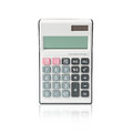 Calculator isolated white background blank screen Royalty Free Stock Photos