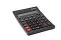 Calculator isolated on white background Royalty Free Stock Photo