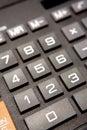 Calculator keypad Royalty Free Stock Photo