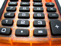 Calculator keys Stock Image