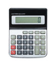 Calculator On Top View Royalty Free Stock Photo